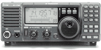 ICOM-718 - best for HF