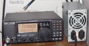 импульсный блок питания от PC386, мощностью 200Вт, отлично работает с ICOM-718 в SSB и CW режимах